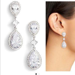 NADRI CZ drop earrings